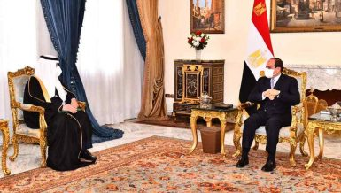 Al-Sisi receives letter from King Salman of Saudi Arabia
