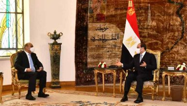 Al-Sisi, Jordan Prime Minister discuss bilateral cooperation, regional issues