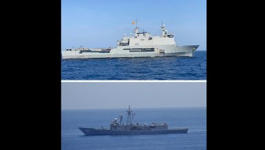 Egypt, Spain carry out joint naval exercises in Red Sea