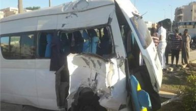 55 injured in collision on Ismailia-Zagazig Road discharged from hospital
