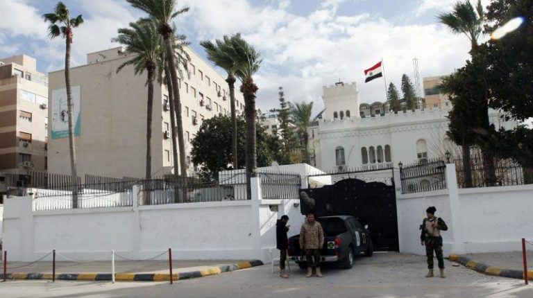 Egyptian delegation arrives in Libya to prepare embassy's reopening
