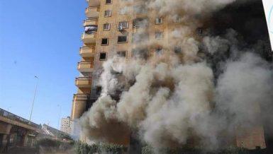 Prosecution investigates massive fire at Giza shoe store