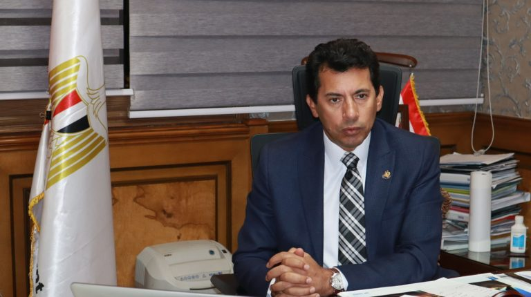 Youth and Sports Minister Ashraf Sobhy