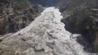 150 feared dead in India as Himalayan glacier breaks down