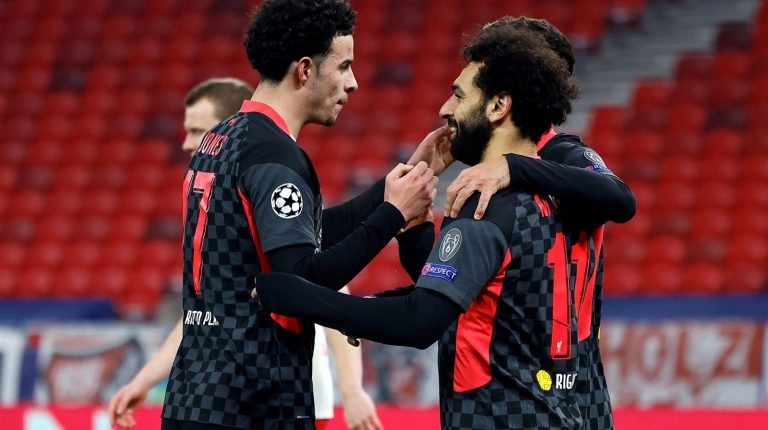 Liverpool's Mo Salah continues goal-scoring streak