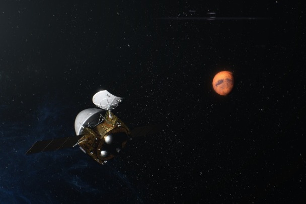 China's Tianwen-1 probe, including an orbiter, a lander and a rover, successfully entered Mars orbit on Wednesday after a nearly seven-month voyage from Earth.