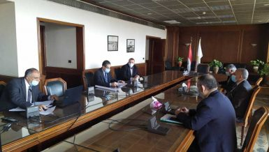 Water Resources Minister, Gharbeya Governor discuss irrigation projects