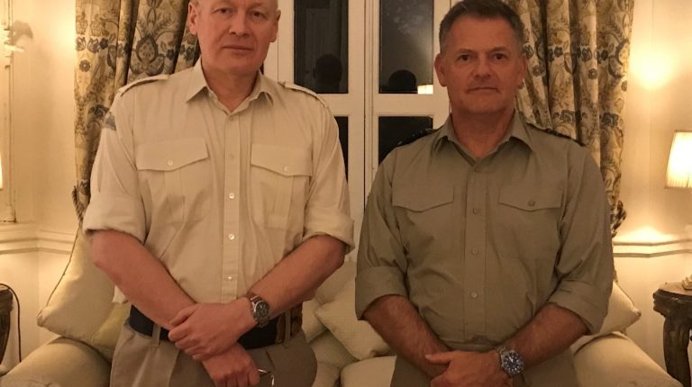 UK military delegation visits Egypt to discuss training, armament partnership