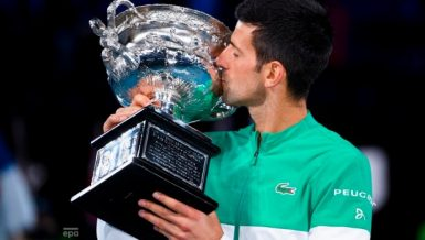 Nine-time Australian Open champion Novak Djokovic said that the Melbourne Park victory would put wind in his sails for the rest of the year.