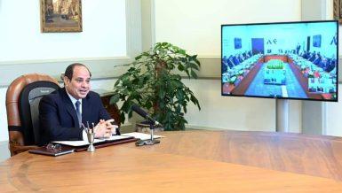 Egyptian President calls for establishing integrated Arab counter-terrorism system