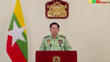 Myanmar Commander-in-Chief of Defence Services Sen-Gen Min Aung Hlaing
