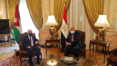 Egypt, Jordan Foreign Ministers affirm Arab stance on Palestine