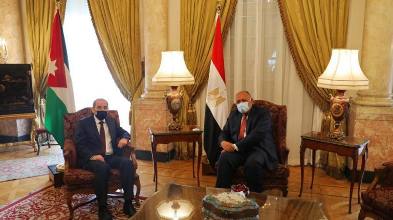 Egypt, Jordan Foreign Ministers affirm Arab stance on Palestine