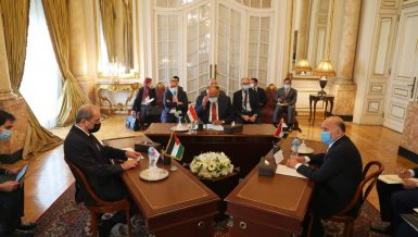 Egypt, Jordan, Iraq Foreign Ministers discuss joint cooperation path
