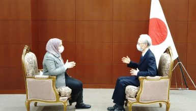 Noke Masaki, Ambassador of Japan to Egypt