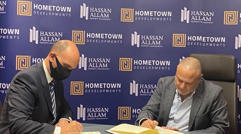Hometown, Hassan Allam contract to manage 2 property projects in New Capital