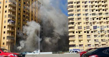 Massive fire breaks out at rubber factory in Giza's Faisal district, no injuries