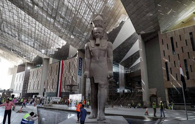 An official visit to the Grand Egyptian Museum (GEM) by a UNESCO World Heritage Center and Heritage Division team, headed by its director Mechtild Rössler, took place on Friday.
