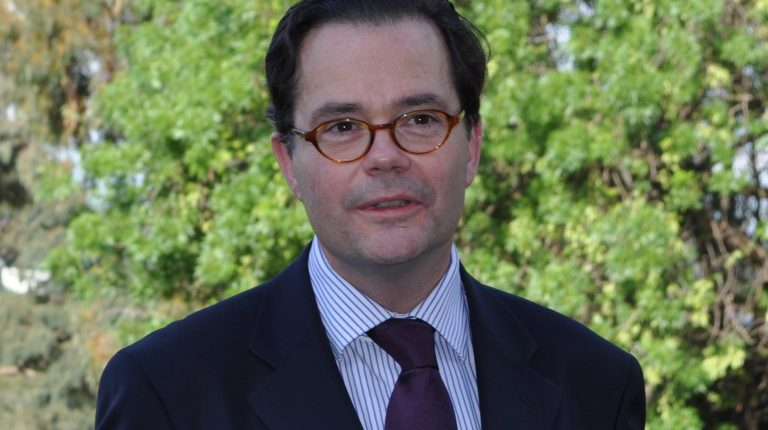 France's security starts in Egypt, French ambassador to Cairo Stéphane Romatet told reporters