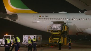 Senegal receives first batch of Chinese COVID-19 vaccines