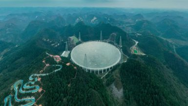 Starting formal operations on Jan. 11, 2020, FAST, located in a deep and round karst depression in southwest China's Guizhou Province, is believed to be the world's most sensitive radio telescope.