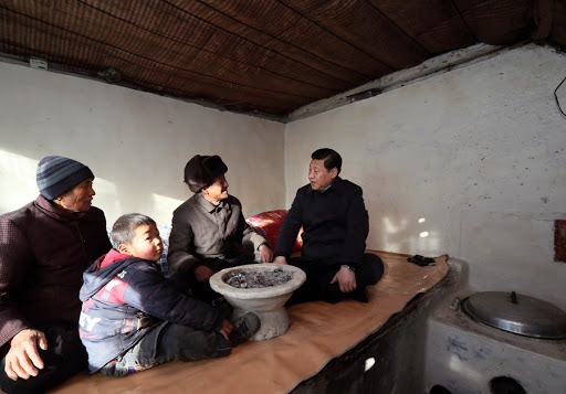 Lifting nearly 100 million people out of poverty in 8 years -- A promise made, and kept, by Chinese President Xi Jinping