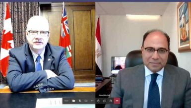 Egypt, Canada discuss strengthening economic, trade relations