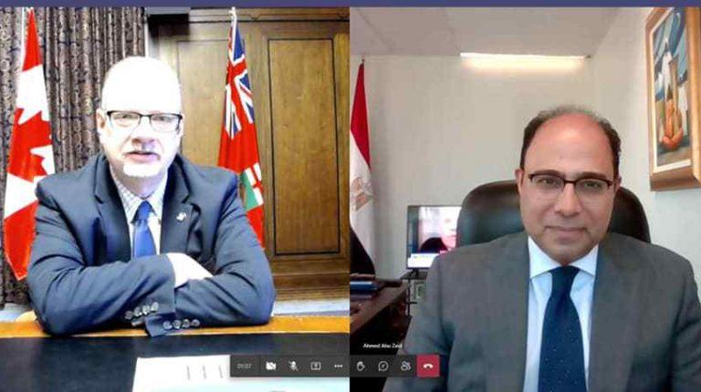 Egypt, Canada discuss strengthening economic, trade relations