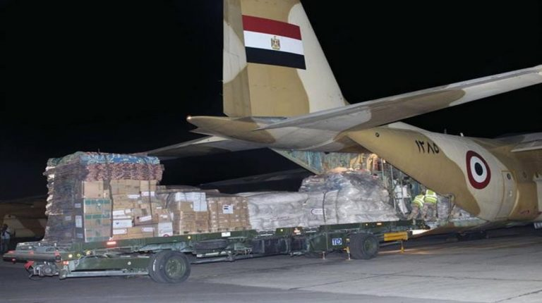 Egypt continues to send relief aid to South Sudan in support for crisis-torn country