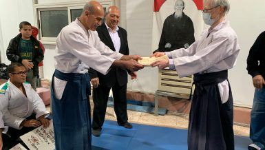 Egypt Aikido Association head awarded Japanese Foreign Minister's Commendation