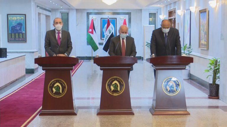 Egypt, Iraq, Jordan meet to discuss joint cooperation, regional issues