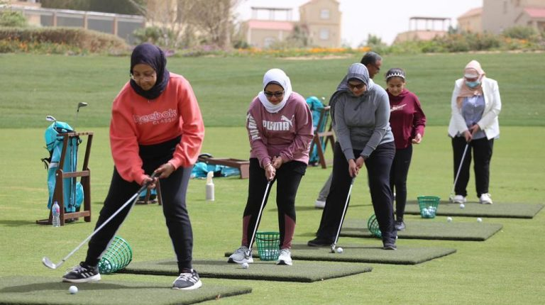 Madinaty Golf Club organizes one-day event dedicated to training for women's golf