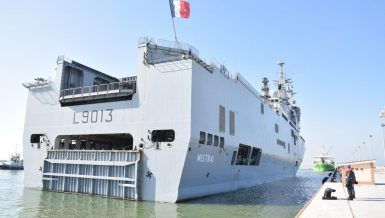 Egypt-France maritime training launches in Mediterranean