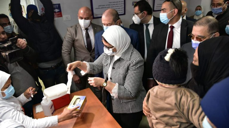 Egypt's Health Ministry launches 2nd phase of Polio vaccination campaign