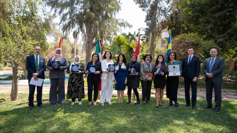 International Cooperation Minister among 9 Egyptian women to receive Champions of Change Award