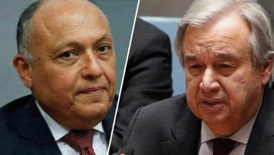 Egypt's Shoukry, UN Secretary-General discuss Ethiopia's Nile dam developments