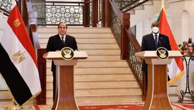 Al-Sisi, Al-Burhan to intensify efforts towards reaching legally binding GERD agreement