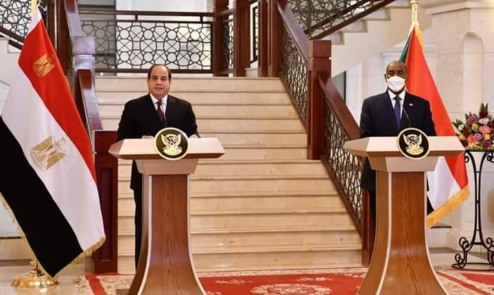 Al-Sisi, Al-Burhan to intensify efforts towards reaching legally binding GERD agreement
