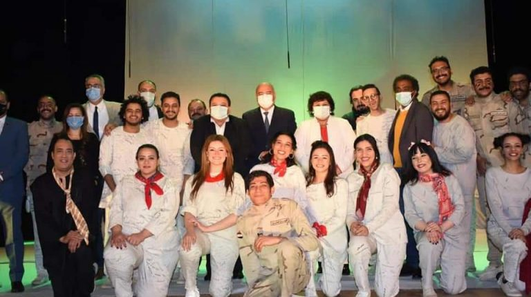 Culture Ministry inaugurates Confrontation and Roaming Theatre shows in Qena