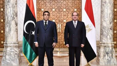 Al-Sisi reiterates Egypt's support to newly elected executive authority in Libya