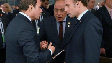 Egypt's Al-Sisi, Macron discuss Libya, Ethiopia dam crises