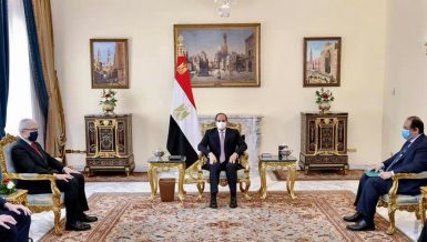 Egypt's Al-Sisi, French Intelligence Chief discuss security, military cooperation