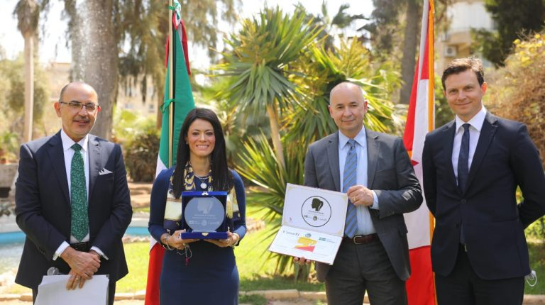 Egypt's International Cooperation Minister receives 'Champions of Change' Award