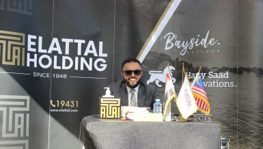 El-Attal Holding launches new Bayside project in Ras Sudr at Real Gate Exhibition
