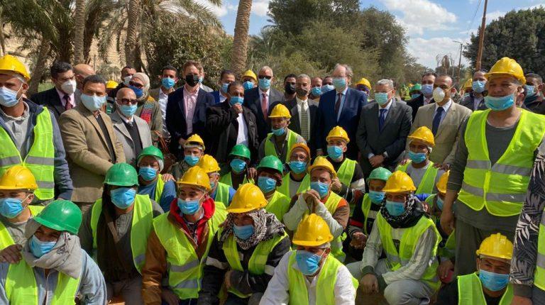 EU Ambassador to Egypt visits new SMEs in Minya