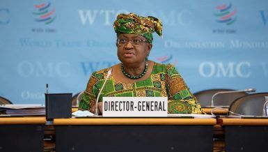 Nigeria's Okonjo-Iweala takes over as WTO chief