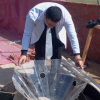 Egyptian researcher innovates device for harvesting rain, evaporated water for floating agriculture
