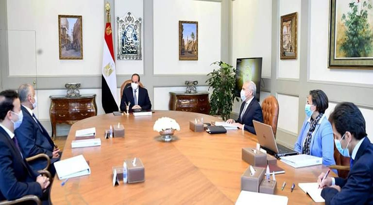 Egyptian President Abdel Fattah Al-Sisi met, on Sunday, with some officials from the Central Bank of Egypt (CBE), where he directed the institution to launch a new mortgage finance programme with a 3% interest rate.