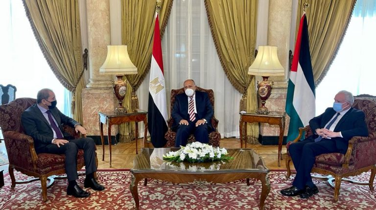 Egypt, Jordan, and Palestine reiterate call for halting Israeli settlement activities