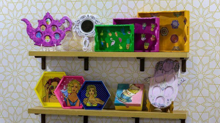Al-Bazaar exhibition celebrates International Women's Day, Mother's Day